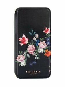 Ted Baker SINDI Mirror Folio Case for iPhone 8 Plus / 7 Plus Sandalwood / Black