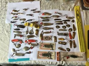Vintage Metal lures, Collect, Fish, Repaint. Heaps