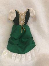 Barbie Dolls of the World Passport Ireland Barbie doll Green Dress Replacement
