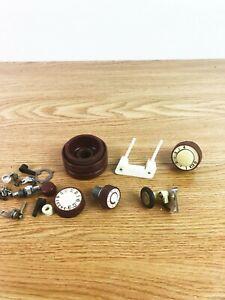 DRESSMAKER RS-78B Sewing Machine Parts Lot Screws knobs Original White VTG AS-IS