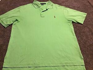 Men's Polo Ralph Lauren Pima Soft Touch XLT Green