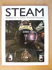 """""""STEAM MUSEUM OF THE GREAT WESTERN RAILWAY."""" Trains Book."""
