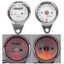LED Speedometer Odo Tachometer For Harley Dyna Sportster Cafe Racer Cruiser