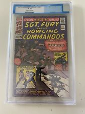Sgt. Fury and His Howling Commandos Annual #1 CGC 8.0 OW/W Pages