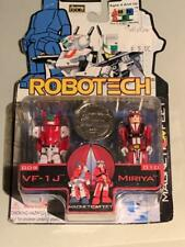 Vintage Robotech I Men Collection Toynami Harmony Gold VF-1J Miriya Veritech
