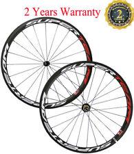 38mm Clincher Road Bike Wheels Road Bike Cycling Wheelset 700C Race US In Stock