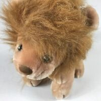 "Kelly Trading Plush Lion VTG Stuffed 11"" King Of The Jungle Animal Cute Cuddly"