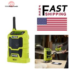 RYOBI Compact Radi with Wireless Bluetooth 18 Volt ONE+ Tool Only Portable