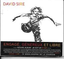 CD ALBUM DIGIPACK 12 TITRES--DAVID SIRE--JE EST UN NOUS--2014