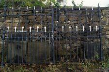 Fantastic pair of antique wrought iron gates