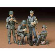 TAMIYA soldats allemands au repos 35129 1:35 Figures Model Kit