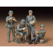 Tamiya soldados alemanes en reposo 35129 kit modelo de 1:35 figuras