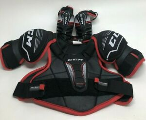 CCM EDGE Youth Hockey Shoulder and elbow Pads Size m