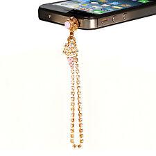 Diamond Ice Cream Anti Dust Plug 3.5mm Earphone Jack For smart phone iPhone
