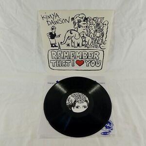 Kimya Dawson - Remember That I Love You - Vinyl Record - Moldy Peaches!