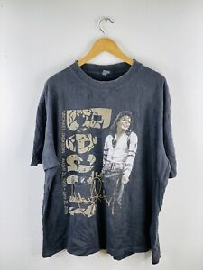 Michael Jackson Beat It Men's Vintage Short Sleeve Band T Shirt Size 3XL Black