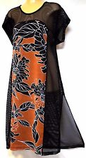 plus sz M / 20 TS TAKING SHAPE Besotted Tunic light sheer layer sexy drape NWT