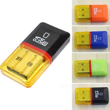 2PCS Memory Card Reader to USB 2.0 - Adapter for Micro SD SDHC SDXC TF & M2 Conv