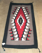 "Throw Rug / Tapestry Southwestern 32""x 64""  Thick Woven Wool  326 B"
