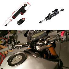 "10"" Black Adjustable Steering Damper Stabilizer For Honda Yamaha Suzuki Kawasaki"