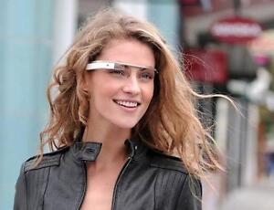 NEW Google Glass V2.0 Explorer Edition Cotton White Glasses - FREE FRAME SHADES