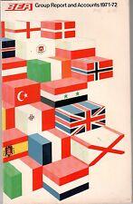 BEA 1971-72 ANNUAL REPORT TRIDENT BRITISH EUROPEAN AIRWAYS B.E.A.