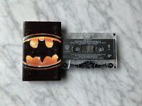 Prince Batman Motion Picture Soundtrack CASSETTE Tape 1989 Warner Batdance OOP!
