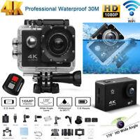 SJ9000 WIFI Waterproof 30M Action Camera Full HD 1080P 4K Sports Camcorder