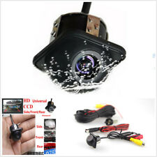 Waterproof Car Rear Side Front 170° Wide-angle View CCD Front Backup Camera Kits