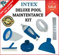 Intex Swimming Pool Skimmer Maintenance Repair Vacuum Kit Above Ground Pools USA