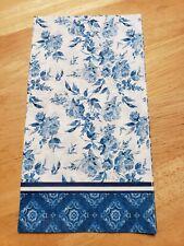 Paper napkins/crafts/decoupage - Blue Porcelain x 2 - dinner 15 2/3 x 11 2/3