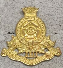 Canadian Army Badge:  Royal Canadian Hussars - brass