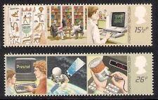 GB 1982 Information Technology SG 1196/1197 Set of 2 Mint MNH