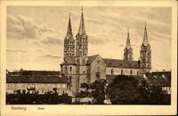 Bamberg alte Ansichtskarte ~1910/20 Blick auf den Dom Verlag Geo Kerner Bamberg