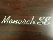"""RV Monaco Coach 2014 """" Monarch SE """" Decal"""