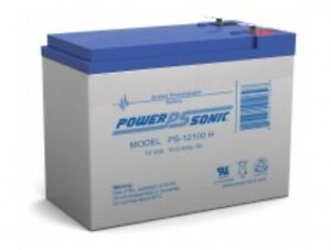 BATTERY COMPATIBLE WITH ECO GS12V10H PS-12100H 12V 10AH 2 EACH