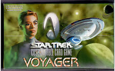 Star Trek CCG Voyager Sealed Box of 30 packs 11 Cards per Pack.