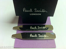 PAUL SMITH Engraved Collar Stays/Bones | RRP £55+ | NEW | TREAT YOUR SHIRTS!!