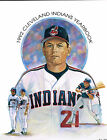 1992 Cleveland Indians MLB Baseball YEARBOOK