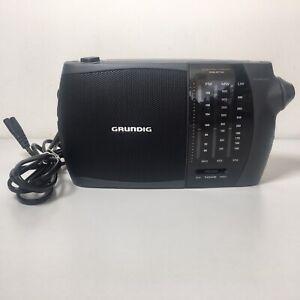 Vintage Grundig Prima Boy 80L Portable Radio FM MW LW Battery or Mains