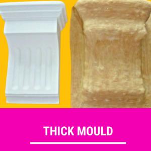 Latex Corbel Sconce Mould Mold Home Decor Concrete Plaster Garden Ornament