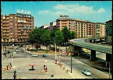 AA0355 Milano - Città - Piazzale Corvetto - Insegne pubblicitarie Motta e Upim