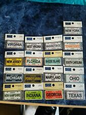 New Listing17 Cardboard Craft State License Plates