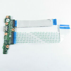 LENOVO CHROMEBOOK S340-14 LAPTOP USB BOARD PCB WITH CABLES 5C50S24982