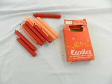 SOLD AS IS Vintage swedish Christmas candles lot of 12
