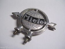 Oldtimer Fahrrad Emblem Steuerkopfschild original MIELE Schutzblech-schild #17