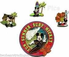 Disney Pin: WDW - Disney Signature Collection - 4 Pin Set (Mickey Mouse)