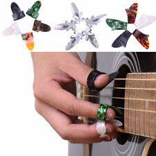 15Pcs Thumb Finger Guitar Pick Celluloid Mediator for Acoustic Electric Guitarra