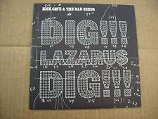 "NICK CAVE - DIG LAZARUS DIG! - BRAND NEW 7"" NUMBERED VINYL 2008 - COPY # 3800"