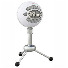 Blue Snowball Professional USB Microphone Textured White NEW